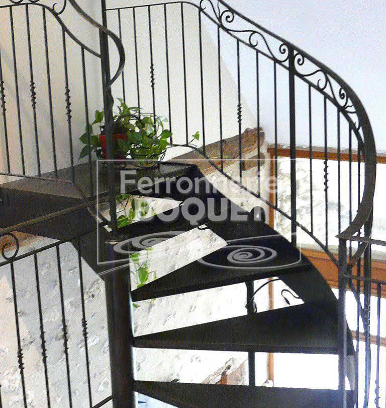 Escaliers Fer Forg Ferronnerie Boquet