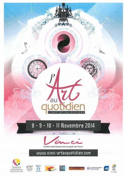 Salon l'Art au Quotidien de Tours 2014