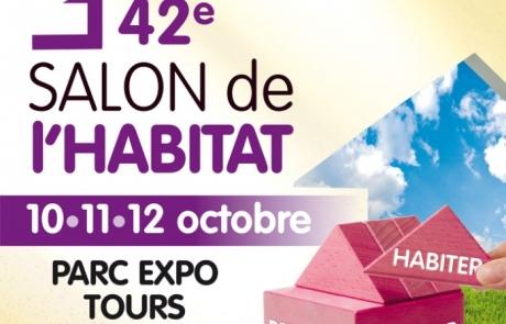 Le 42e Salon de l'Habitat de Tours, les 10, 11 et 12 octobre