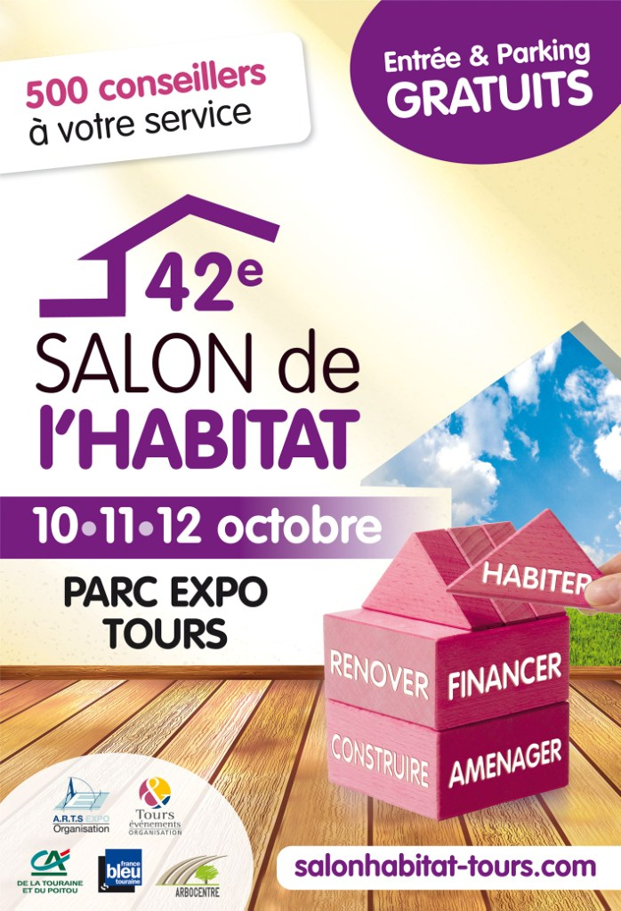 Salon l 39 art au quotidien tours 2015 for Salon de l habitat valence