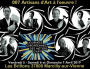 Dans le cadre des JEMA 2019, retrouvez les 007 artisans à l'oeuvre à Marcilly-sur-Vienne